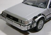 Maqueta DeLorean Regreso al Futuro / Imágenes de la maqueta DeLorean de la película Regreso al Futuro.