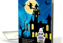 Halloween EEK! / Favorite Halloween greeting cards from artists all over the world at Greeting Card Universe!