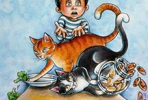 Children's Books Illustrations / Illustrations by Christine Karron
