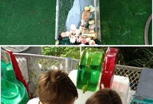 Summer time toddler activities  / by Stephanie Swider