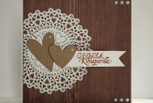 Wedding card's by Hempukka / Wedding card, wedding craft