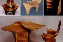 sculpted furniture