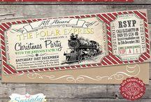 Polar Express / Decor, ideas, and more to throw a Polar Express event.