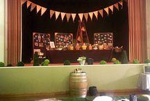 In door Picnic / Our indoor Engagement Party