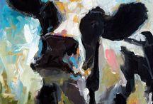 Vacas / PInturas con vacas