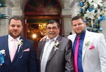 Γάμος / Φωτογραφίες από πελάτες με τα γαμπριάτικα κοστούμια μας.