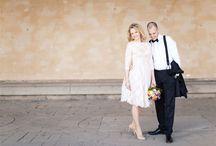 Bröllop Stadshuset - poser