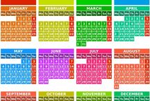 KOMUNIKAČNÍ KNIHA - Počasí,Kalendáře