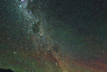 Nocne niebo, kosmos / Night sky, cosmos