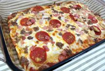 Low carb / Pizza