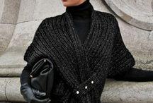Crochet winter shawls
