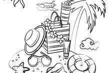 coloriages pour les enfants / assistante maternelle