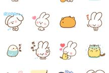 (cute) stickers