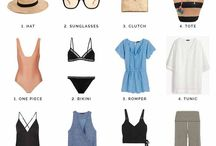 Travel Fashion / Packing tips, airport outfits, fashionable pieces to wear while traveling.