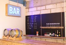 Reclaimed wood bar / Reclaimed wood bar and furniture