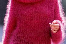 knitting mohair