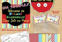 Mason & Tylers 1st Birthday Ideas
