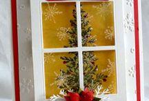 Noël, Fêtes de fin d'année / Cartes, mini..... sur le thème de la fin d'année en scrap