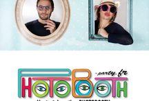 Photobooth / Www.photobooth-party.fr vous propose des décors pour animation photo à la vente et à la location.