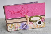 scrappin' | mini albums / mini album inspiration ... my scrapbooking seems to be moving in this direction more and more! / by Pam Barnes