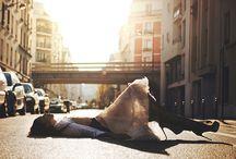 Street Fashion Photography / Gathering some inspirations for my upcoming street fashion photography!