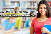 ACCT 301 Study material for Devry University