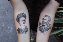 Van Gogh & Frida Kahlo