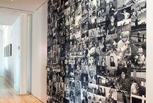Fotowände / Ganz easy und einfach die Wohnung/ das Zimmer mit schönen großen und kleinen Fotowänden dekorieren.