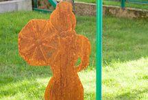 plazma Art / Metal Art and decor for garden