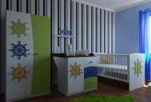 Marine kid's bedroom for boys / Marine kid's bedroom for boys. Nursery marine bedroom for babies. Nursery bedroom. #marine #kidsbedroom #nurserybedroom