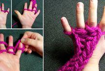 вяжем руками