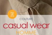 Couture Casual Wear Homme : tableau collectif / Board collectif  Pour y poster vos réalisations, demandez-moi une invitation ;) A bientôt