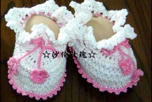 Baby items to crochet / This is for booties, outfits, and dolls for babies only / by Noel 311