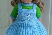 trico bonecas