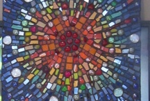 Art : Mosaic Sea Glass/Art