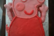 Bake a Peppa Pig Cake! / Want to bake a Peppa Pig Cake for your child birthday? Here's how! / by Penwizard