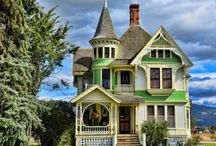 Victorian, Cottage & Bungalow Homes / OK, actually any cool homes I like. / by Laura Oliver