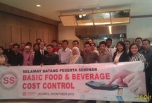 Seminar Food Cost & Beverage Control @2C-Cooking Cinema, 28 October 2015