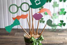 St. Patricks day theme party / St. Patricks Day theme birthday