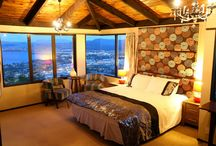 Aorangi Peak Holiday House / Located at Mt Nongotaha Mountain top and surrounded by a deer farm park of Rotorua city, New Zealand. The house is a Holiday home with beautiful mountain view, lake and city view.