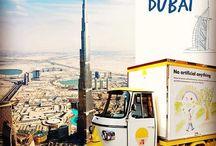 DriDri Stores & Design / Dri Dri Gelato spots around the world ! London, Dubai, Rio de Janeiro, Bahrain..
