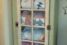 Quilt cupboard