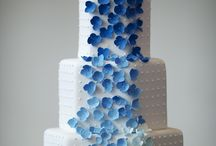 blue wedding/blauwe bruiloft / wednesdayweddings.nl