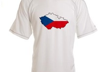 Czech Republic Flag Map Products