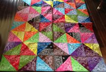 Bandana quilt ideas / by Ann Spenrath