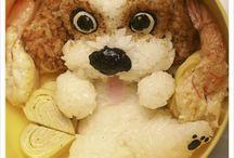 Animal Bento / Cute animal bento