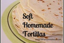 Tortilla/flatbread / by Audry Battiste
