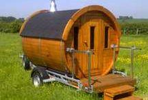Sauna caravan