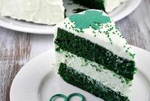 Gâteaux Saint Patrick / Toute une sélection de pâtisseries pour fêter la Saint-Patrick.