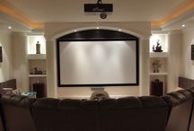DIY Home Theater / Build your own home theater! Tips, ideas and inspiration for DIY home theater. / by Visual Apex